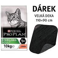Pro Plan Cat Sterilised losos 10 kg + deka - Granuly pre mačky
