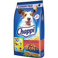 Chappi granuly hovädzie a hydinové so zeleninou pre dospelých psov 9 kg