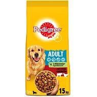 Pedigree Vital Protection granuly hovädzie a hydinové pre dospelých psov 15 kg