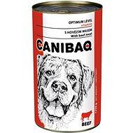 Canibaq Classic Hovädzie 1250 g - Konzerva pre psov