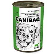 Canibaq Classic Jahňacie 415 g - Konzerva pre psov
