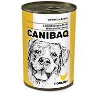 Canibaq Classic Hydinová 415 g - Konzerva pre psov