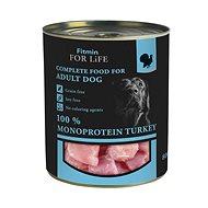 FFL Dog tin Turkey 800 g - Konzerva pre psov