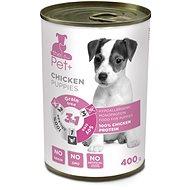 ThePet+ Dog tin Chicken puppy 400 g - Konzerva pre psov