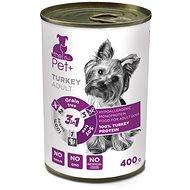ThePet+ Dog tin Turkey 400 g - Konzerva pre psov