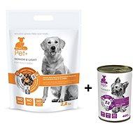 ThePet+ 3 in 1 Dog Adult Senior & Light 2,8 kg + Tin turkey 400 g zdarma