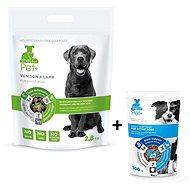 ThePet+ 3 in 1 Dog Adult Venison & Lamb 2,8 kg + Active treat 100 g zdarma