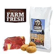 Topstein Farm Fresh Venison and Potato 20 kg - Granuly pre psov