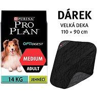 Pro Plan Adult medium OptiDigest jahňacie mäso 14 kg + deka