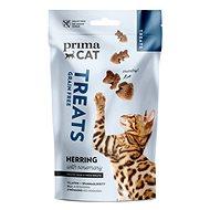 PrimaCat Treats - Chrumkavá maškrta, sleď s rozmarínom, 40 g - Maškrty pre mačky