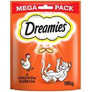 Maškrty pre mačky Dreamies maškrty kuracie pre mačky 180 g