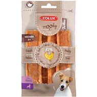 Zolux Mooky Premium hydinový M 4 ks 110 g - Maškrty pre psov