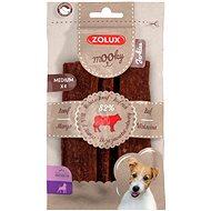 Zolux Mooky Premium hovädzí M 4 ks 110 g - Maškrty pre psov