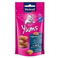 Vitakraft Cat pochúťka Yums losos 40 g - Maškrty pre mačky