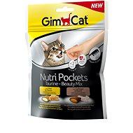 Maškrty pre mačky GimCat Nutri Pockets Taurine Beauty mix 150 g