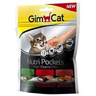 Maškrty pre mačky GimCat Nutri Pockets malt vitamin mix 150 g