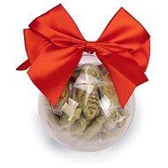 Beeztees Vianočná nádoba s maškrtami s kocúrnikom pre mačky 45 g