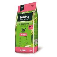 Nativia Puppy – Chicken & Rice 15 kg - Granuly pre šteniatka