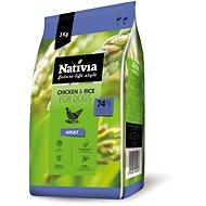 Nativia Adult – Chicken & Rice 3 kg - Granuly pre psov