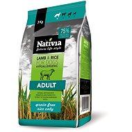 Nativia Adult lamb & rice 3 kg - Granuly pre psov