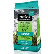Nativia Adult lamb & rice 15 kg - Granuly pre psov