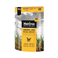 Nativia Real Meat – Chicken & Rice 8 kg - Granuly pre psov