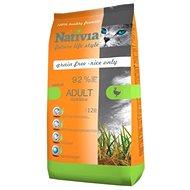 Nativia Adult Hairball – Duck & rice 1,5 kg - Granule pre mačky