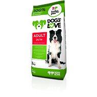 Dog´s Love Adult 3 kg - Granuly pre psov