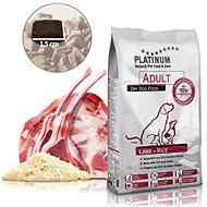 Granuly pre psov Platinum natural lamb rice jahňacie s ryžou 5 kg