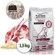 Platinum Natural Lamb Rice, jahňacina s ryžou, 1,5 kg - Granule pre psov