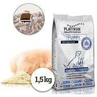 Platinum Natural Puppy Chicken, kuracie, pre šteňatá, 1,5 kg - Granule pre šteniatka