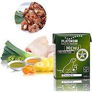 Platinum natural menu chicken kura 375 g - Paštéta pre psov