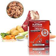 Platinum natural menu beef chicken - Paštéta pre psov