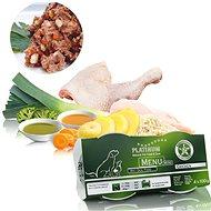 Platinum natural menu mini chicken kura 4 × 100  g - Paštéta pre psov