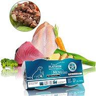 Platinum natural menu mini fish chicken ryby kura 4 × 100 g - Paštéta pre psov