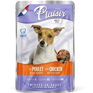 Kapsička pre psov Plaisir Dog kapsička kuracie so zeleninou 22 × 100 g