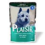 Plaisir Dog kapsička kačacia 22 × 100 g