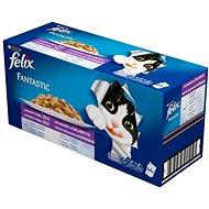 Felix fantastic 1 (44× 100 g) – výber mix v želé - Kapsička pre mačky