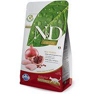 N&D grain free cat neutered chicken & pomegranate 10 kg - Granuly pre mačky