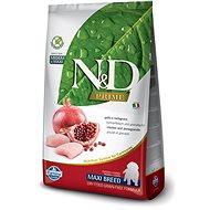 N&D grain free dog puppy maxi chicken & pomegranate 12 kg - Granule pre šteniatka