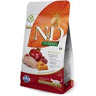 N&D grain free pumpkin cat neutred quail & pomegranate 1,5 kg - Granule pre mačky