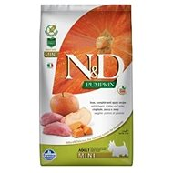 N&D grain free pumpkin dog adult mini boar & apple 7 kg - Granuly pre psov