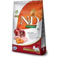 N&D grain free pumpkin dog adult mini chicken & pomegranate 7 kg - Granuly pre psov