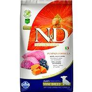 N&D grain free pumpkin dog puppy mini lamb & blueberry 7 kg - Granuly pre šteniatka