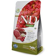 N&D grain free quinoa cat urinary duck & cranberry 1,5 kg - Granule pre mačky
