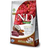 N&D grain free quinoa dog skin & coat venison & coconut 2,5g - Granuly pre psov
