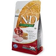 N&D low grain cat adult chicken & pomegranate 1,5 kg - Granuly pre mačky