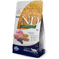 N&D low grain cat adult lamb & blueberry 10 kg - Granule pre mačky