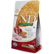 N&D low grain cat neutered chicken & pomegranate 5 kg - Granuly pre mačky