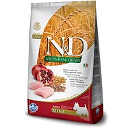 N&D low grain DOG Adult Mini Chicken & Pomegranate 7 kg - Granuly pre psov